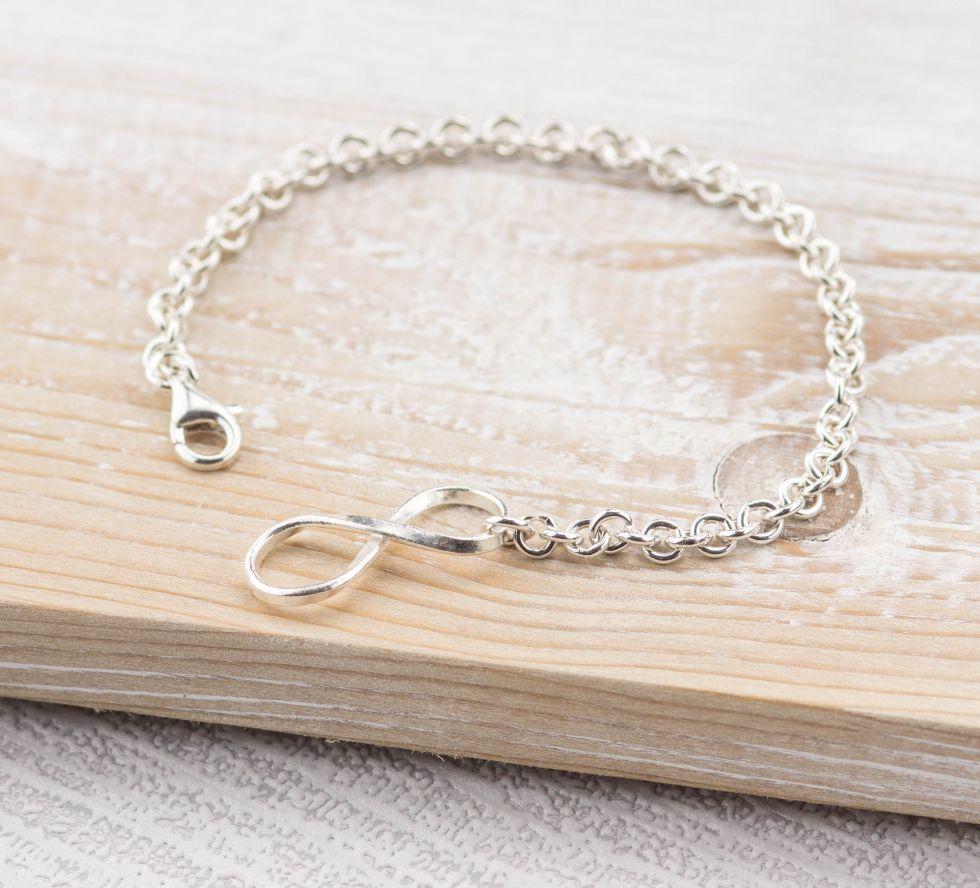 Infinity Lock Bracelet