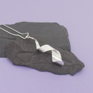 Silver Twist Pendant