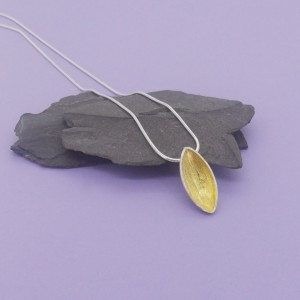 Silver & 18ct Gold Plated Pod Set