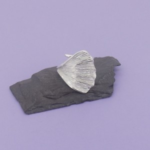 Ginko Leaf Wrap-around-Ring