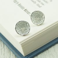 Silver Credenda Stud Earrings
