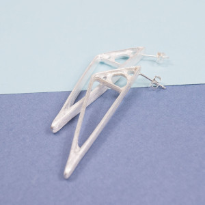Silver Avante Earrings