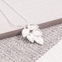 Lenta Leaf Pendant