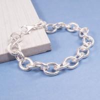 Solid Silver Link Bracelet
