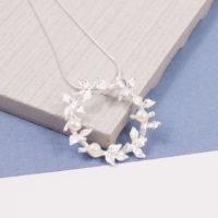 Garland Pearl Pendant