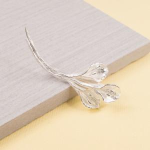 Silver Calla Lily Brooch
