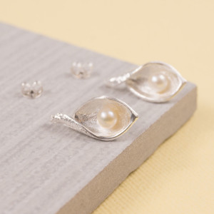Snakeye Silver Stud Earrings