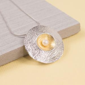 Silver Amulet Pendant
