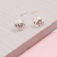 orbit satin wave studs
