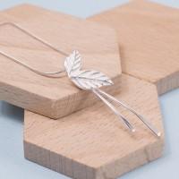 Silver Laurel Leaf Pendant