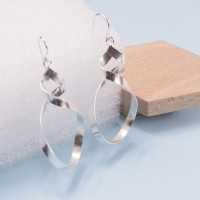 Silver Otto Earrings
