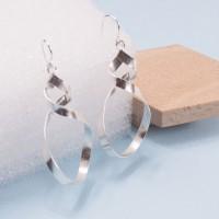 Silver Otto Earrings