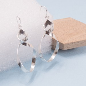 Silver Otto EarringsSilver Otto Earrings