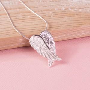 Silver Angel Wings Pendant