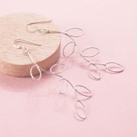 Silver Springbud Earrings