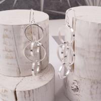 Silver Ringlet Earrings