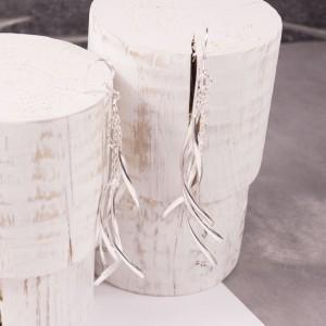 Silver Maypole Earrings