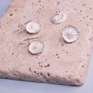 Silver Dalila Earrings