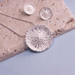 Silver Dalila Pendant