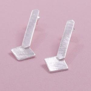 Silver Tanita Earrings