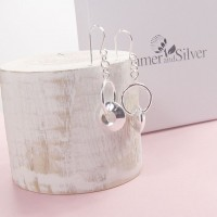 Silver Enya Earrings