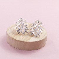 Silver Lilia Earrings