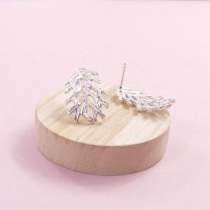 Silver Lilia Earrings