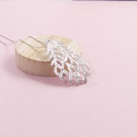 Silver Lilia Pendant