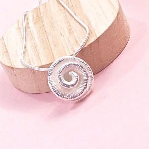 Silver Ammonite Pendant