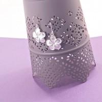 Silver Cherry Blossom Earrings