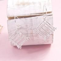 Silver Cleo Earrings
