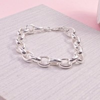 Medium Link Belcher Bracelet