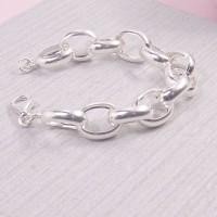 Large Link Belcher Bracelet