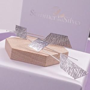 Silver Ria Longstem Earrings