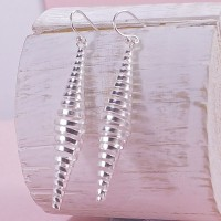 Silver Spring Drop Earrings