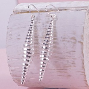 Silver Spring Drop Earrings