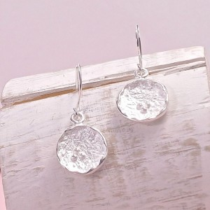 Silver Credenda Drop Earrings