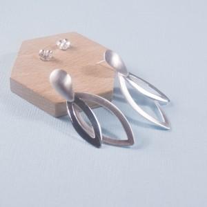 Silver Haumea Stud Earrings