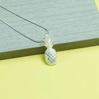 Silver Pineapple Pendant